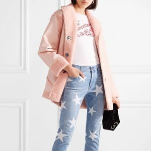 Opening Ceremony Reversible Faux Shearling Coat 0